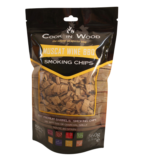 Muscat Wine BBQ Chips / Smoking Chips