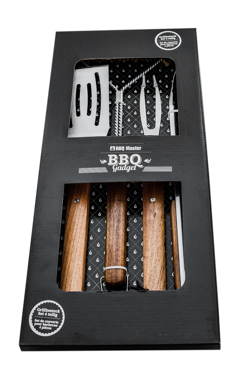 Grill cutlery set 4 pieces