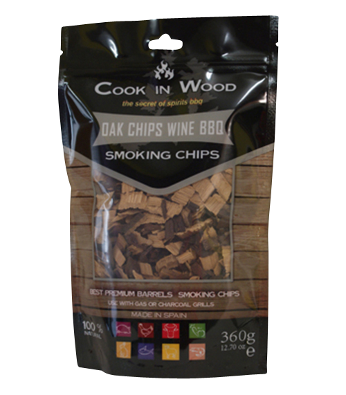 Oak Chips Wine BBQ Chips / Smoking Chips