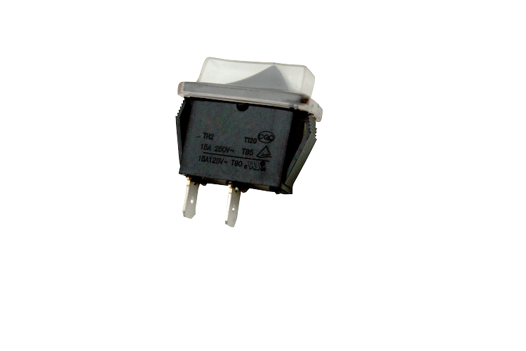 LED on/off switch (square)