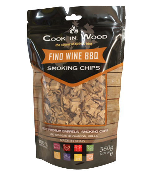 Fino Wine BBQ Chips / Smoking Chips