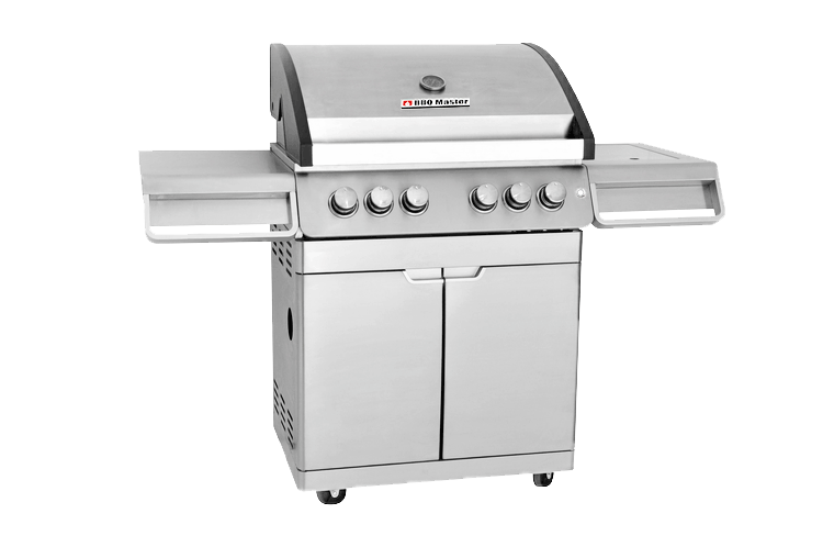 BBQ Master XL Pro - Stainless steel gas grill
