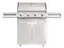 BBQ Master XL Plus - Stainless steel gas barbecue